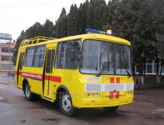 Автомобиль аварийно-спасательный АРА-6, 3205