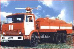 Автомобиль порошкового пожаротушения АП - 4, 43114