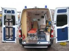 Car of ambulance AEShMD-V-3/1, RENAULT MASTER-02