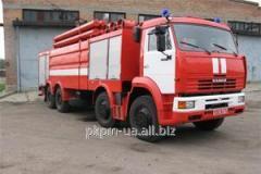 Tanker fire ATs - 100, 65201 - 270