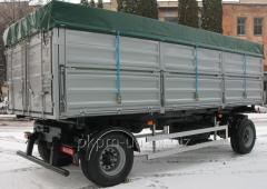 PS 1528 trailer dump truck, modification