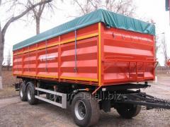 PS 1740 trailer dump truck