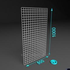 Проволочная сетка 1000 х 500. Ячейка 50х50