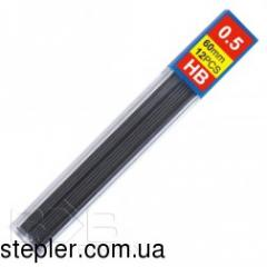 Core for a mechanical pencil, 0.5 mm, HB, KL0427,