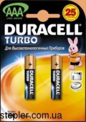 AAA batteries, LR-03/2bi, 07916, Duracell