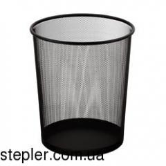 Round wastepaper basket, metal, 295 x 295 x 345