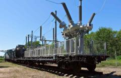 Передвижная тяговая подстанция переменного тока 27,5 кВ