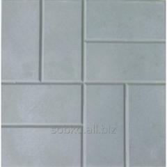 The tile is sidewalk, lawn, garden gray and color