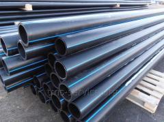 Труба водопроводная полиэтиленовая ПЭ-100 110 мм, SDR 13,6, РЕ-100 , 12 атм.