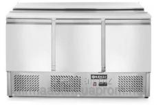 Table refrigerating a saladetta - 3-door, with a