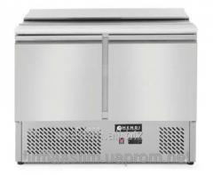 Table refrigerating a saladetta - 2-door, with a