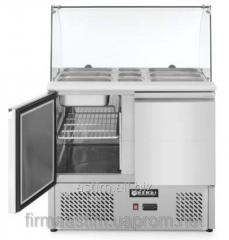 Table refrigerating (saladetta), 2-door, with a