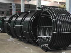 Pipe of gas polyethylene PE-80 125 mm, SDR 11,