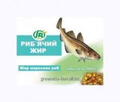 Рыбий жир Гринвит 42 капсулы  Грин-Виза