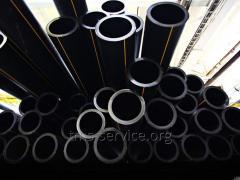 Pipe of sewer polyethylene PE-80 200 mm, SDR 21,