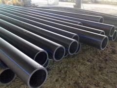 Pipe of sewer polyethylene PE-80 250 mm, SDR 21,