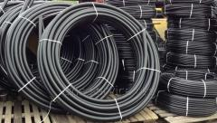 Pipe of sewer polyethylene PE-80 125 mm, SDR 13,6,