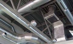Air duct steel