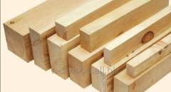 Preparations sawn for production of pallets from a