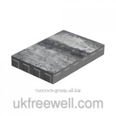 Monolith - all colors on white cement of 8 cm