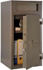 Tempokassa for storage of banknotes, coins,