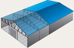Hotbeds, greenhouses and components for them