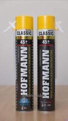 Polyurethane foam HOFMANN CLASSIC manual 740ML 45L