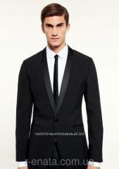 Black tuxed