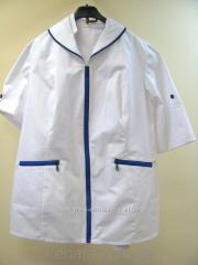 Medical jacket with lightnings