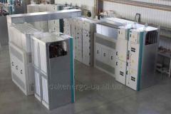 Комплектная трансформаторная подстанция наружной или внутренней установки напряжением 6 (10) / 0,4 кВ мощностью до 1250 кВ∙А