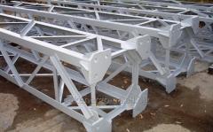 Mast projector metal