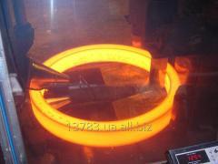 Rings are raskatny, forgings of St 20, 45, 5khnm,