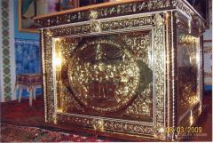 Олтари със злато обшивка, вакуум