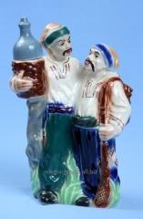 Ceramic bottle for Cossack hunters vodka