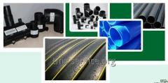 Pipes from PE, PE polyethylene chemically resistan