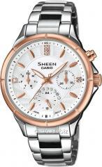 Hours of SHE-3047SG-7AUER, Casio Sheen
