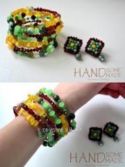"""Nab_r: bracelet """"zm_yka"""" that"""