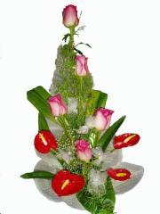 Bouquet congratulatory Romanticism of tenderness
