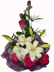 Bouquet congratulatory Romanticism of passion
