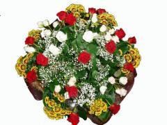 Bouquet congratulatory Color scattering
