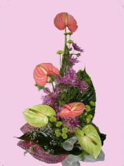 Bouquet congratulatory Color passion