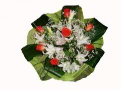 Bouquet congratulatory Purity of thoughts