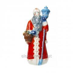 """Керамическая бутылка подарок для спиртных напитков """"Дед Мороз"""""""
