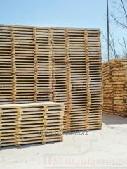Flooring wooden for the construction woods
