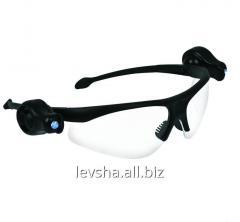 Goggles with illumination of Truper LELED-2