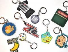 Brelki for keys, PVC charms, charms from rubber,