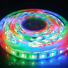 Светодиодная лента SMD5050 60LED/ IP54 RGB с влагозащитой