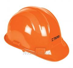 Helmet construction Truper Orange CAS-N