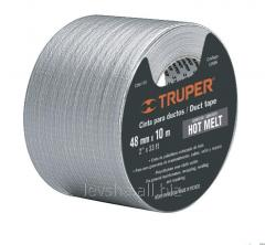 Adhesive tape on a fabric basis of Truper, 10 m x