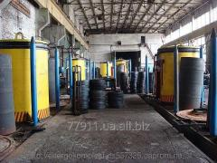 Annealing furnaces for a wire